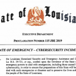 De Cyber noodtoestand uitroepen – helpt dat?