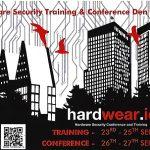 Hardwear.io – De vijfde editie van een kleinschalige en interessante training annex conferentie