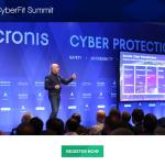 Noteer de datum: 27-28 november, Acronis #CyberFit Summit, Yas Island Rotana, Abu Dhabi
