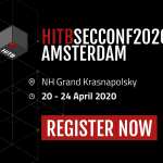Dienstmededeling: Hack in the Box 2020 – Amsterdam