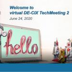 DE-CIX TechMeeting 2020 – het ging ook over hamsteren