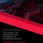 Trustwave over de GoldenSpy malware