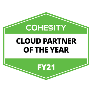 Cohesity partner of the year